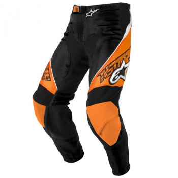 Мотоштаны Alpinestars Racer Black-Orange 30