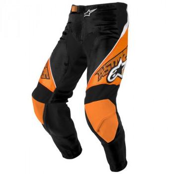 Мотоштаны Alpinestars Racer Black-Orange 30