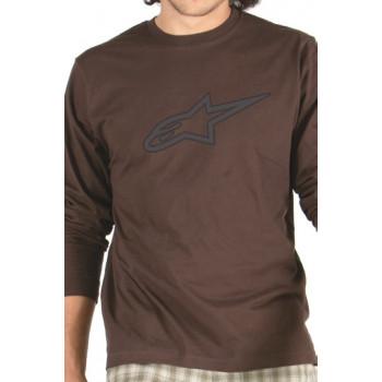 Майка Alpinestars Star Flock L/S Tee Brown S