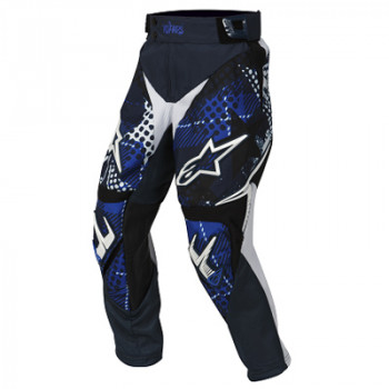 Мотоштаны детские Alpinestars Youth Charger Punk Blue-White 24