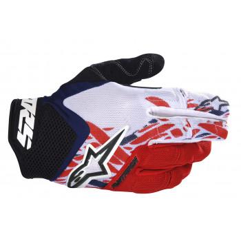 Мотоперчатки детские Alpinestars Youth Racer Black-White-Red XXS