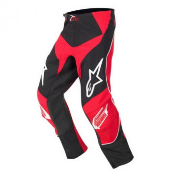 Мотоштаны детские Alpinestars Racer Black-Red 22