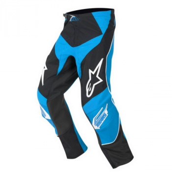 Мотоштаны детские Alpinestars Racer Black-Blue 22
