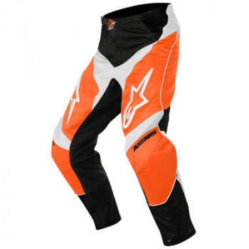Мотоштаны детские Alpinestars Racer Black-Yellow-White 24