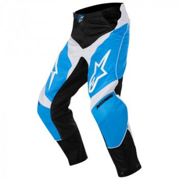 Мотоштаны детские Alpinestars Racer Black-Blue-White 24