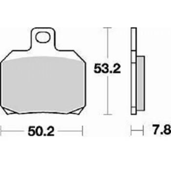 Колодки тормозные Braking BR 828CM56