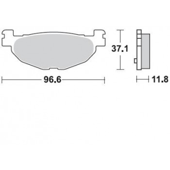 Колодки тормозные Braking BR 904SM1
