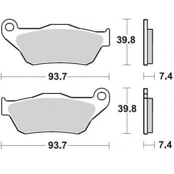 Колодки тормозные Braking BR 926SM1