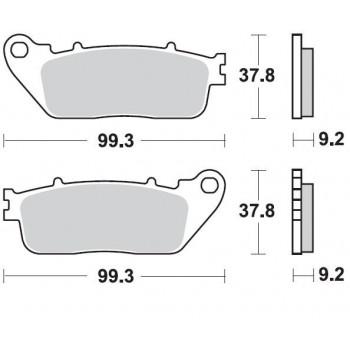 Колодки тормозные Braking BR 942CM56