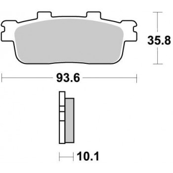Колодки тормозные Braking BR 948SM1