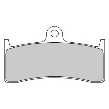 Колодки тормозные Ferodo FE FDB2036ST