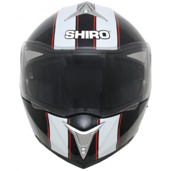 Мотошлем Shiro 664 SH 835 Viper Black-White-Red L