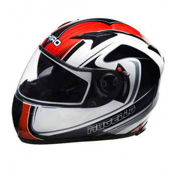 Мотошлем Shiro 692 SH 3700 Mugello Black-White-Red L