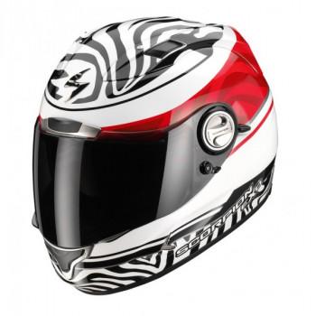 Мотошлем Scorpion Exo-1000 Air Samba Type E11 White-Red-Black L