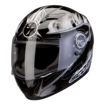 Мотошлем Scorpion Exo-500 Air Shadows Black-White XL
