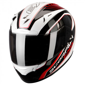 Мотошлем Scorpion Exo-2000 Air Performer Type E11 Pearl White-Black-Red L