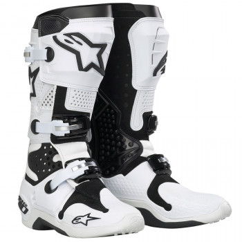 Мотоботы Alpinestars TECH 10 White-Black 10