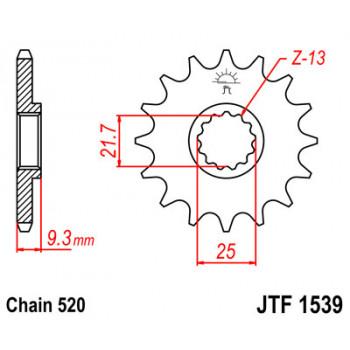 Звезда передняя JT Sprockets JTF1539.15