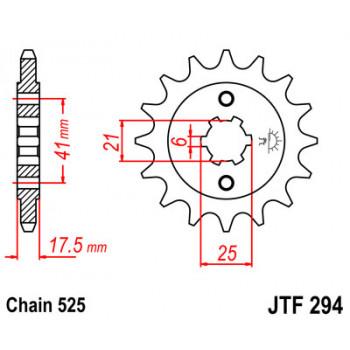 Звезда передняя JT Sprockets JTF294.15