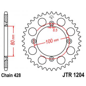 Звезда задняя JT Sprockets JTR1204.50
