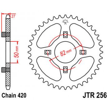 Звезда задняя JT Sprockets JTR256.42