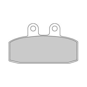 Колодки тормозные Ferodo FE FDB438P