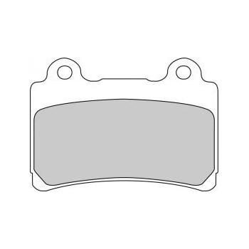 Колодки тормозные Ferodo FE FDB662P