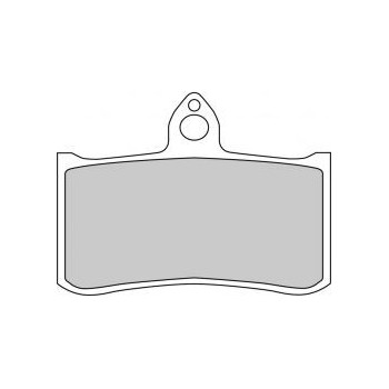 Колодки тормозные Ferodo FE FDB858ST