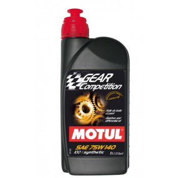 Масло трансмиссионное cинтетическое Motul Gear Competition Sae 75w140 (1l)
