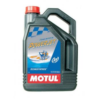 Масло для 2-х тактных двигателей полусинтетическое Motul Powerjet 2t (4l)