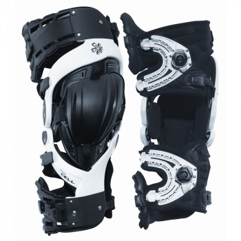 Мотонаколенники Asterisk Ultra Cell-Knee Protection System-Pair Black-White S