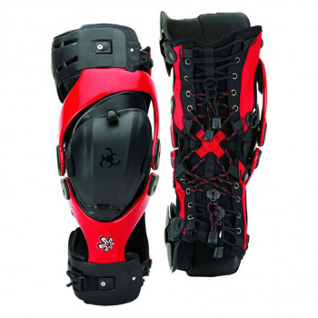 Мотонаколенники Asterisk Cell-Knee Protection System-Pair Black-Red S