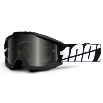 Мотоочки 100% Accuri Sand Goggle Black Tornado - Grey Smoke Lens