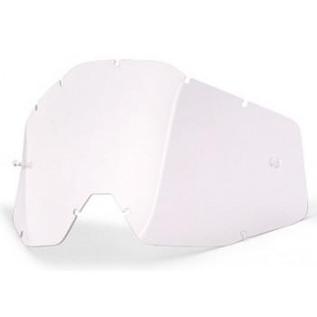 Линза для мотоочков 100% Racecraft/Accuri/Strata Replacement Lens Clear Anti-Fog