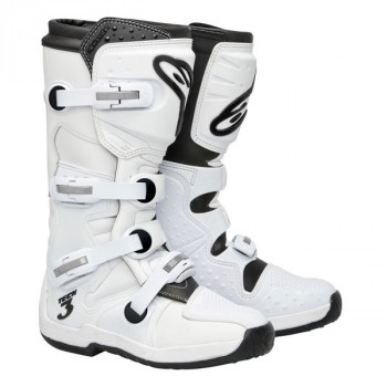 Мотоботы Alpinestars Tech 3 SUPERWHITE 10