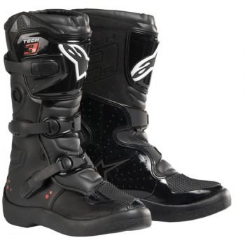Мотоботы подростковые Alpinestars TECH 3S YOUTH BOOTS Black 4