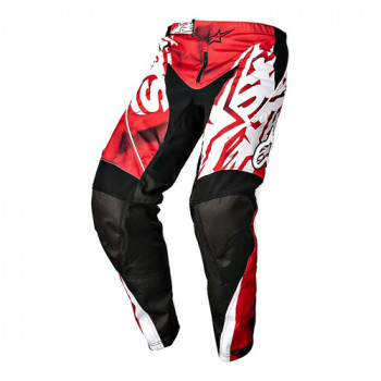 Мотоштаны Alpinestars Racer Red-Black 34