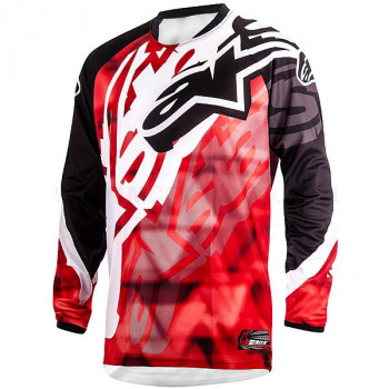 Джерси Alpinestars RACER Red-Black 32