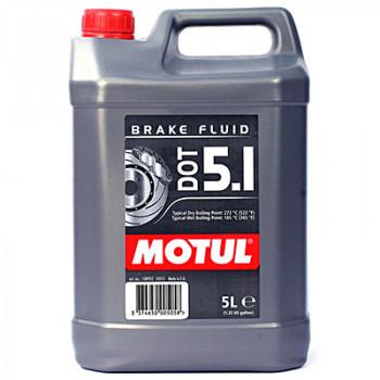 Тормозная жидкость Motul DOT 5.1 Brake Fluid (5L)