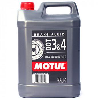 Тормозная жидкость Motul DOT 3&4 Brake Fluid (5L)