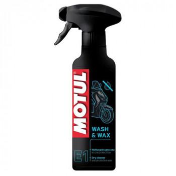 Сухое чистящее средство Motul E1 Wash & Wax (0,4L)