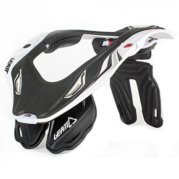 Мотозащита шеи Leatt Brace GPX 5.5 White-Black L-XL
