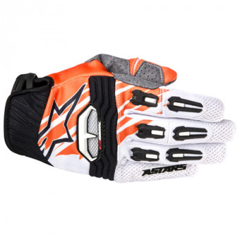 Мотоперчатки Alpinestars Techstar White-Orange M(2014)
