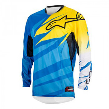 Джерси Alpinestars Techstar Cyan-Yellow-White XL(2014)