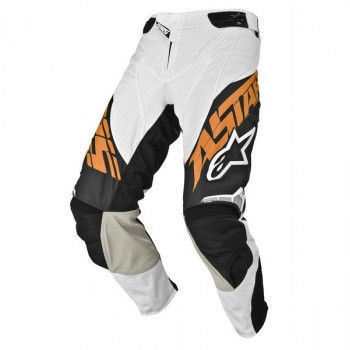 Мотоштаны Alpinestars Techstar Black-Orange 30