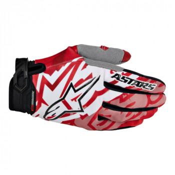 Мотоперчатки Alpinestars Racer Red-Black 2XL