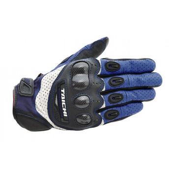 Мотоперчатки RS-Taichi Velocity Carbon Blue XL