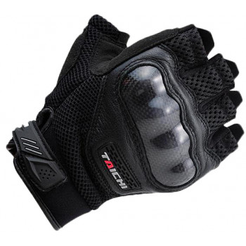 Мотоперчатки без пальцев RS TAICHI Half Finger Black XL