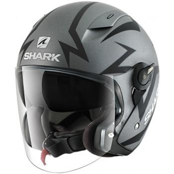 Мотошлем SHARK RSJ Starry Mat-ST Grey-Black M