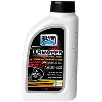 Моторное масло Bel-Ray Thumper Rac Synthetic Ester 4T 15W-50 (1L)
